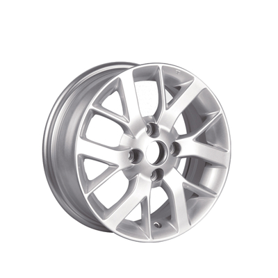 Silver color painting Hyper silver black size 14x5.5 inch Japan car Replica alloy wheel rims