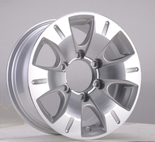Silver 15 Inch Automobile Rims Replica Universal Wheels DH-B1097