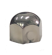 Nut cover metal chrome inner hex38mm