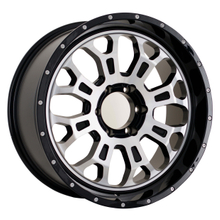 DH-F1808 20 Inch Wholesale Alloy Wheel Rims Off Road Black Machine Face