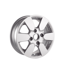 14*5.5 4*114.3 sliver painting alloy car wheel rims hot sale 14 inch alloy rim