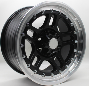 JWL VIA Wheels Aftermarket 17 Inch 6 Lug Offroad 4X4 Alloy Wheel DH-M N4003