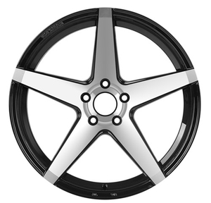 Car Rims Concave Wheel with 5 Hole in black 15 inch DH-M603