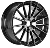 17 18 inch aftermarket hyper sliver 5x114.3 5x120 jwl via high quality aluminum wheel rims for sale