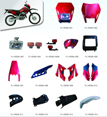 MOTORCYCLE PLASTIC BODY COVER FOR XR250 SERIES