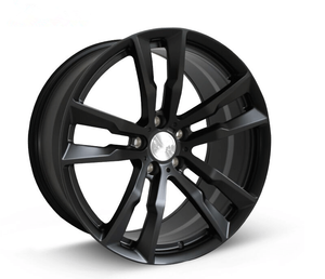 DH-JH6061 17 Inch Forged Alloy Wheel Rims Black Car 5 Holes