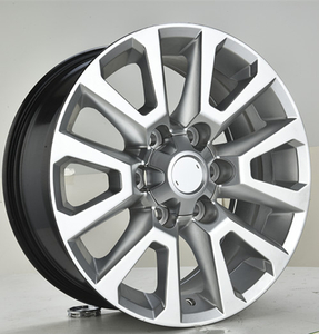 Gunmetal machine face 18 Inch Automobile Rims Replica Universal Wheels DH-B1072