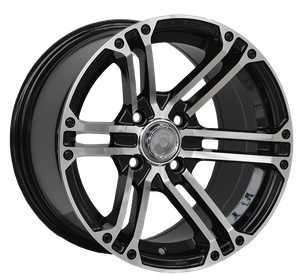 14 Inch 5 Holes Deep Dish Car Aluminum Alloy Wheels