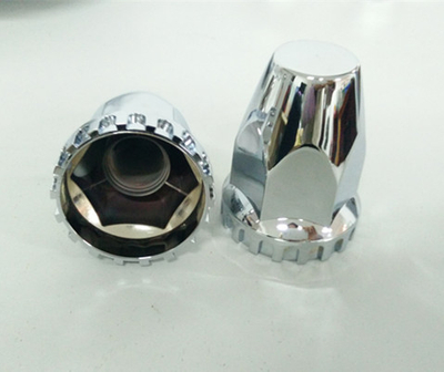 ABS chrome wheel nut cover DH-YY18100 for truck