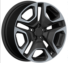 DH-PY0113 Wholesale Hot Black Deep Dish Replica Alloy Wheels Rims for Car