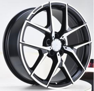 DH-LB011 2018 Hot Selling 18 19 Inch Alloy Car Wheel Rims with Pcd 5x112
